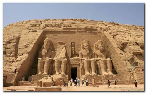 Image Nile Archaeological Site Tourist Attraction Sand Egyptian Temple