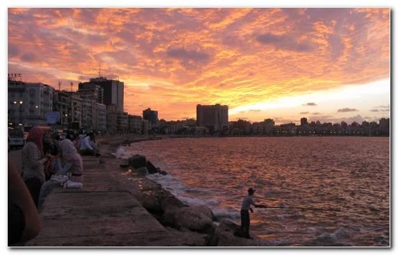 Image Nile Sky Travel Sunrise Horizon