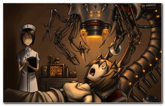 Image Nurse Robot Fiction Cg Artwork Fictional Character