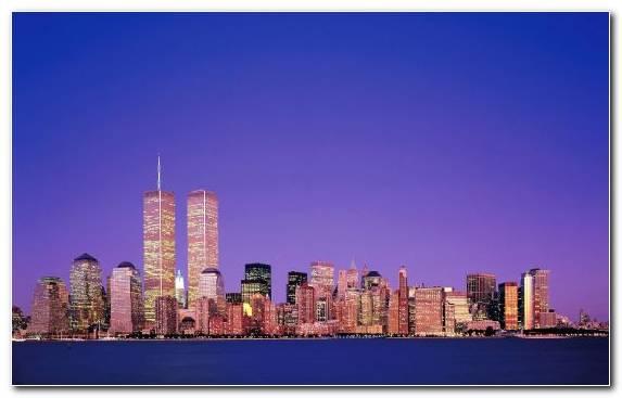 Image One World Trade Center Petronas Towers Capital City City Horizon