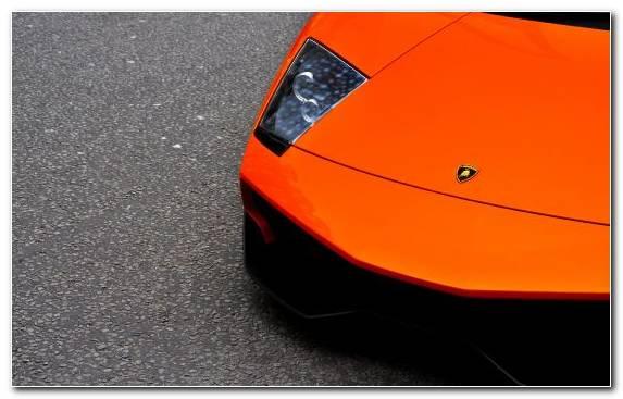Image Orange Bugatti Car Lamborghini Murcilago Sportscar