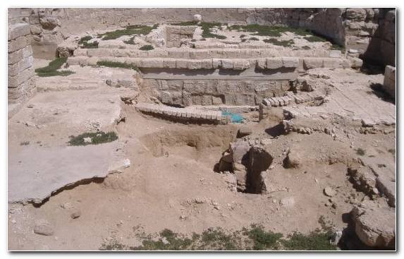 Image Outcrop Landscape Archaeological Site Sand Archaeology