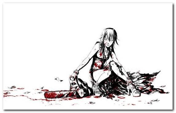 Image painter fashion illustration girl black and white anime