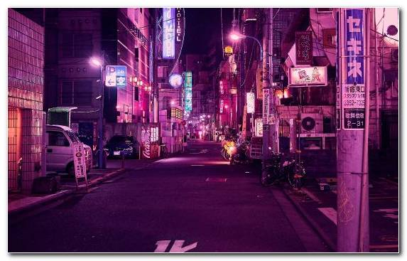 Image Painter Metropolis City Capital City Purple