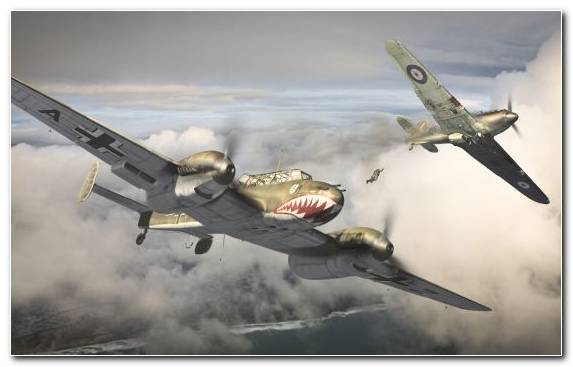 Image Painting Air Force Second World War Drawing Military Aircraft