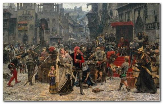 Image painting middle ages battle tourist attraction visby