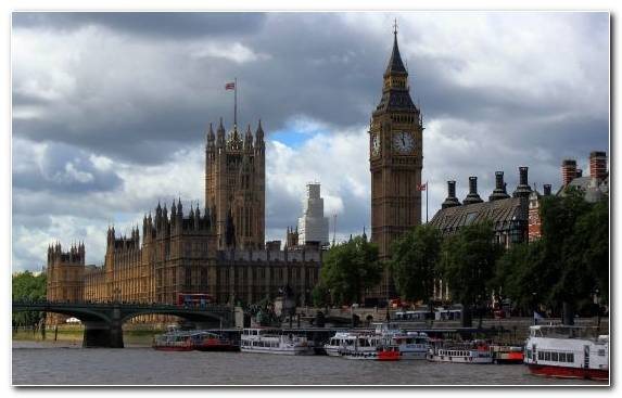 Image Parliament Tower Palace Of Westminster City Sky