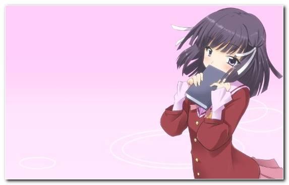 Image Parody Pink Tenri Ayukawa Purple Girl