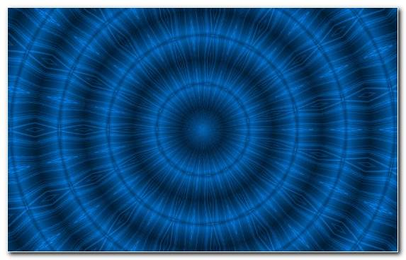 Image pattern fractal art symmetry blue electric blue