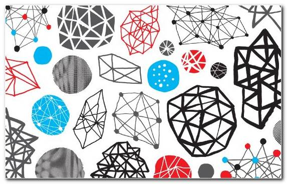 Image Pattern White Black Blue Shape