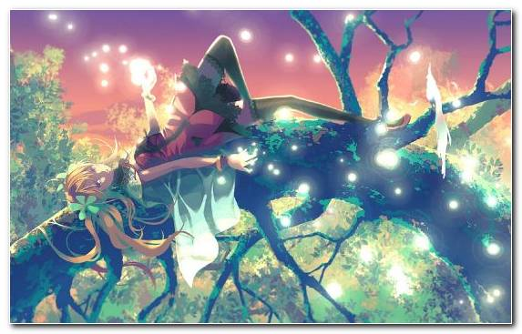 Image Pc Game Graphics Anime Music Video Drawing Tree