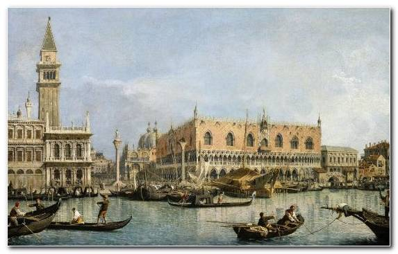 Image Piazza San Marco City Painter Art Museum Canal
