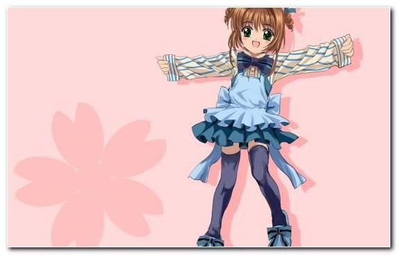 Image Pinkie Cardcaptor Sakura Mangaka Tomoyo Daidouji Girl