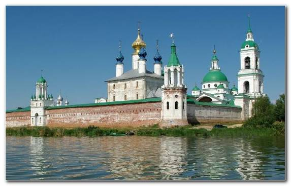 Image Place Of Worship Monastery Sky Waterway Medieval Architecture