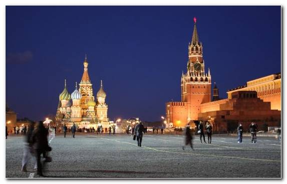Image Plaza City Landmark Red Square Capital City