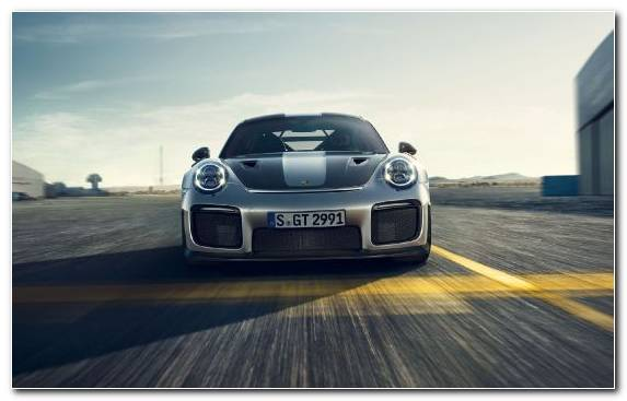 Image Porsche 911 Gt2 Sports Car Bumper Supercar Sportscar