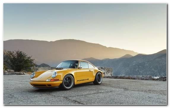 Image Porsche 930 Porsche 959 Porsche 911 Porsche Yellow