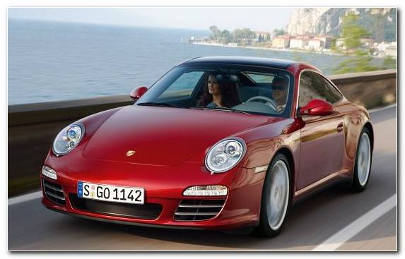 Image Porsche Sports Car Mid Size Car Targa Top Car