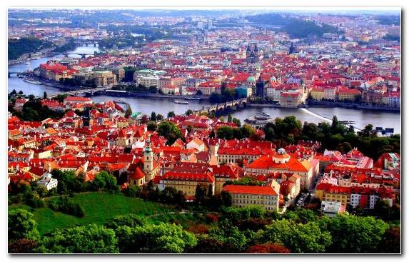 Image Praha Apple MacBook Pro Birds Eye View Urban Area City