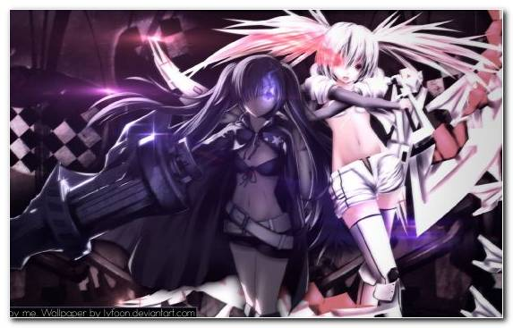 Image Purple Fan Art Hatsune Miku Manga Black Rock Shooter