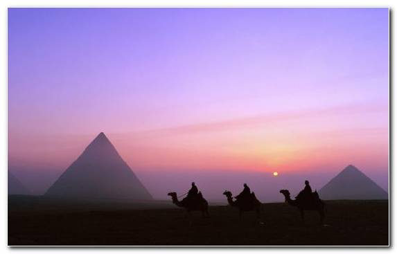Image pyramid Cairo dawn sunrise twilight