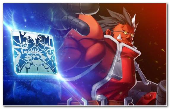 Image Ragna The Bloodedge Combo Blazblue Central Fiction Game Fighting Game