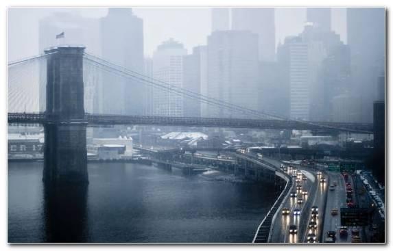 Image Rain Skyscraper Cityscape Horizon Waterway