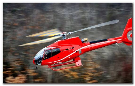 Image Red Eurocopter Ec130 Airbus Helicopters Mode Of Transport Helicopter Rotor