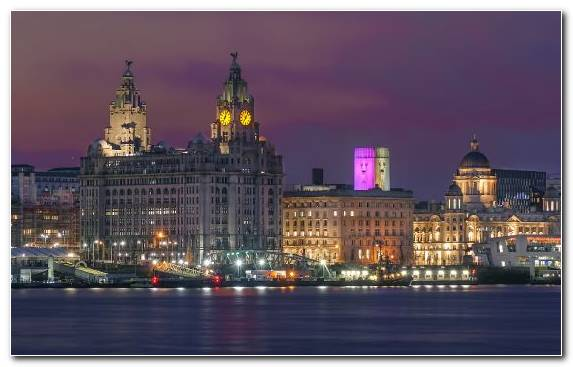 Image Reflection Landmark City Liverpool F C Horizon