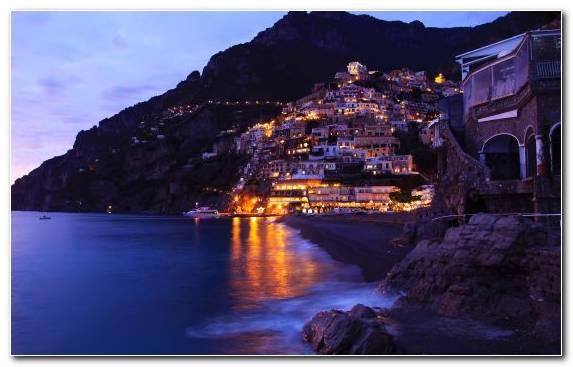 Image reflection terrain tourist attraction sorrento coast