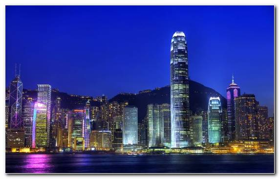 Image Reflection Urban Area Skyline Landmark Victoria Harbour