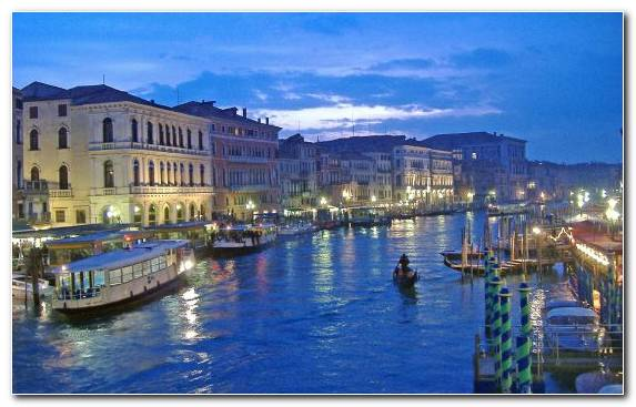 Image rialto bridge travel waterway sky canal