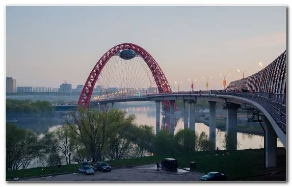 Image river bridge tourist attraction water landmark