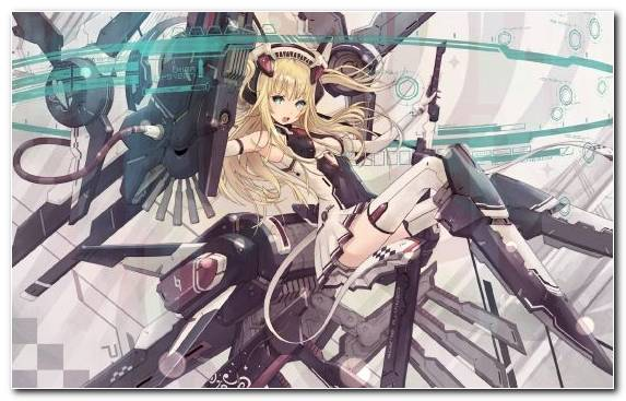 Image Robot Fictional Character Girl Mecha Anime Anime