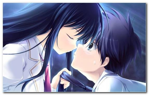 Image Romance Kiss Girl Manga Love