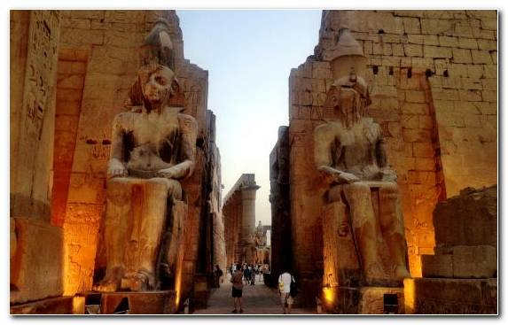 Image Ruins Historic Site Nile Monument Tourist Attraction