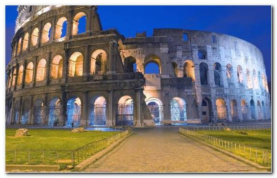Image ruins sky colosseum ancient history tourist attraction