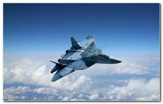 Image Russia Fifth Generation Fighter Sukhoi Airplane Sukhoi Su 35