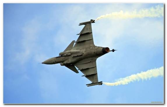 Image Saab Jas 39 Gripen Aircraft Air Force Fighter Aircraft Jet Aircraft