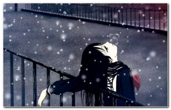 Image Sadness Emotion Winter Cry Snow