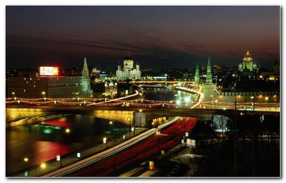 Image Saint Basils Cathedral Night Urban Area Cityscape Skyline