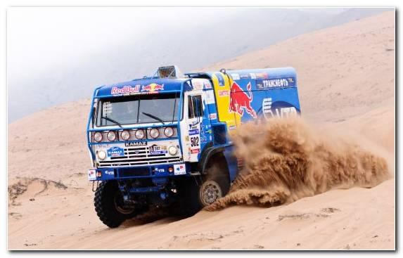 Image sand rally raid bmw transport off roading