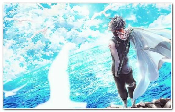 Image Sasuke Uchiha Aqua Sky Underwater Naruto Uzumaki