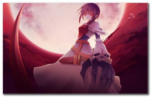 Image Scythe Fatestay Night Animation Red Girl