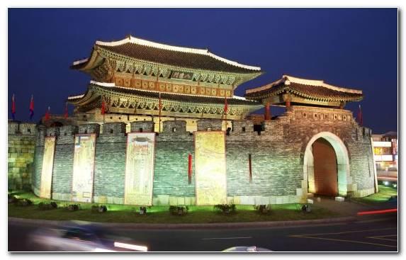 Image Seoul Landmark Building Arch Temple