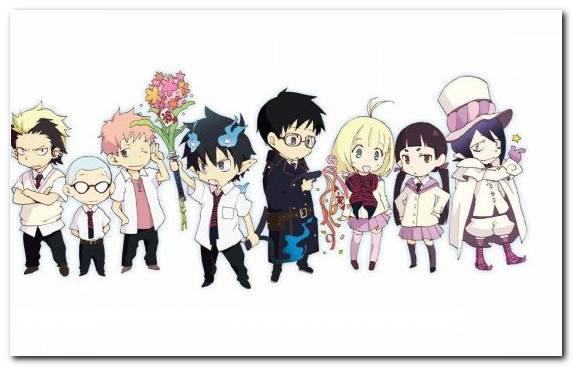 Image Shiemi Moriyama Cartoon Illustration Uniform Graphics