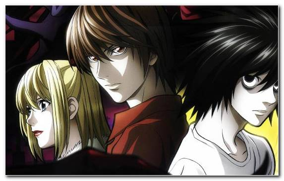 Image shinigami light yagami mangaka death note mello