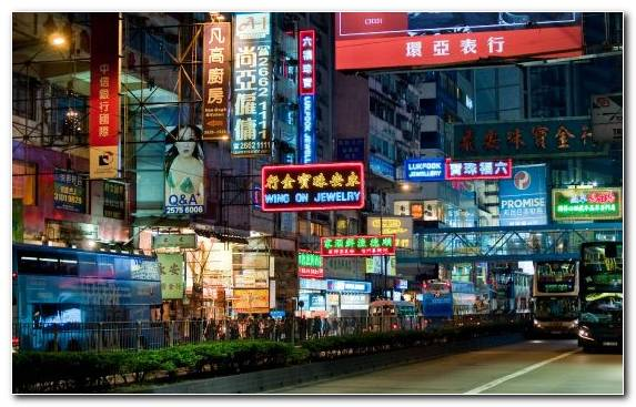 Image Signage Cityscape Advertising Capital City City