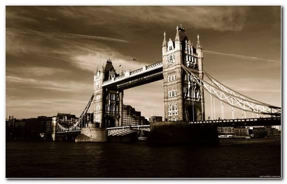 Image sky bridge capital city landmark suspension bridge