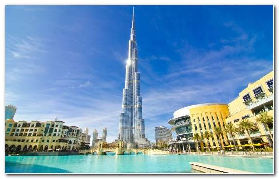 Image Sky Burj Khalifa Daytime Tower Day